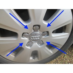 Centre Cap - GENUINE Audi