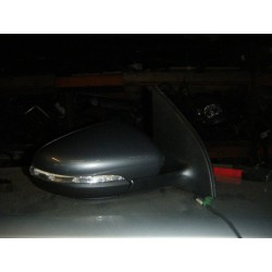 VW GOLF MK6 2012 DRIVER HEATED ELECTRIC INDICATOR GREY WING MIRROR