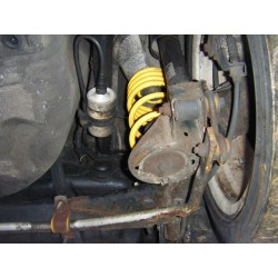 VW LUPO GTI POLY BUSH ARB UPGRADED REAR DISC BRAKE AXLE BEAM
