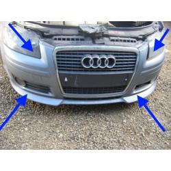 AUDI A3 sportback original genuine S LINE front bumper complete grille foglights