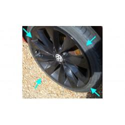 VW Scirocco Turbine alloys